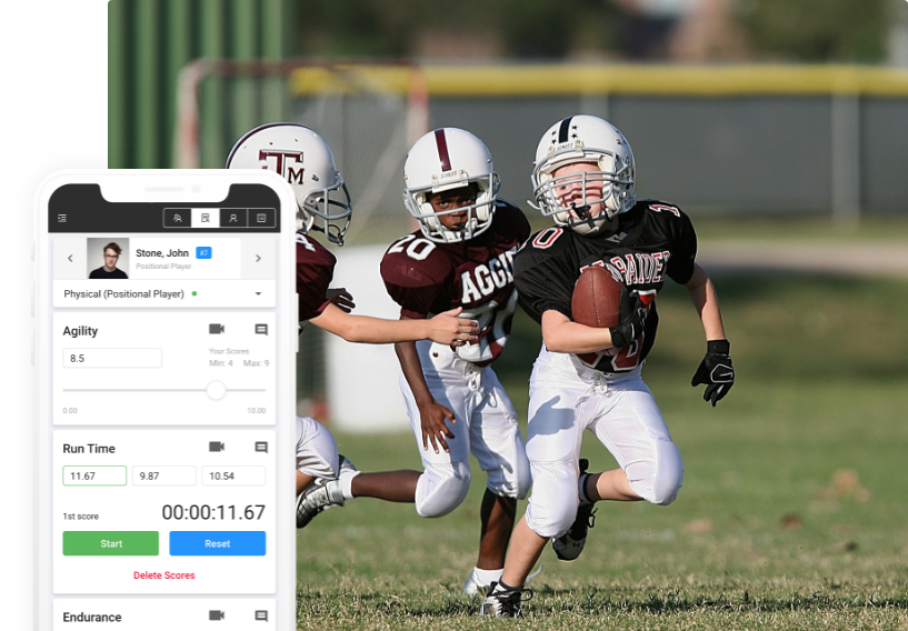 football evaluation software