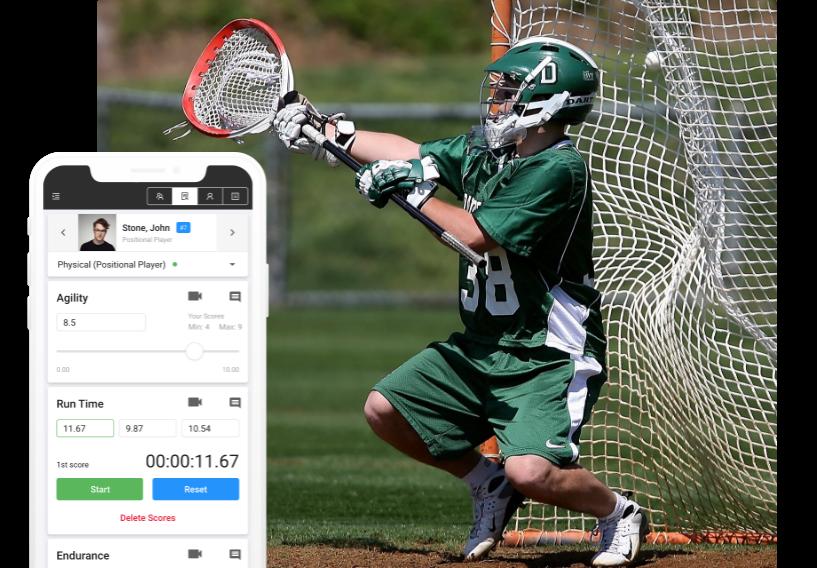 lacrosse evaluation software