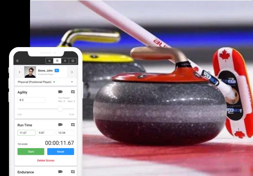 curling evaluation software