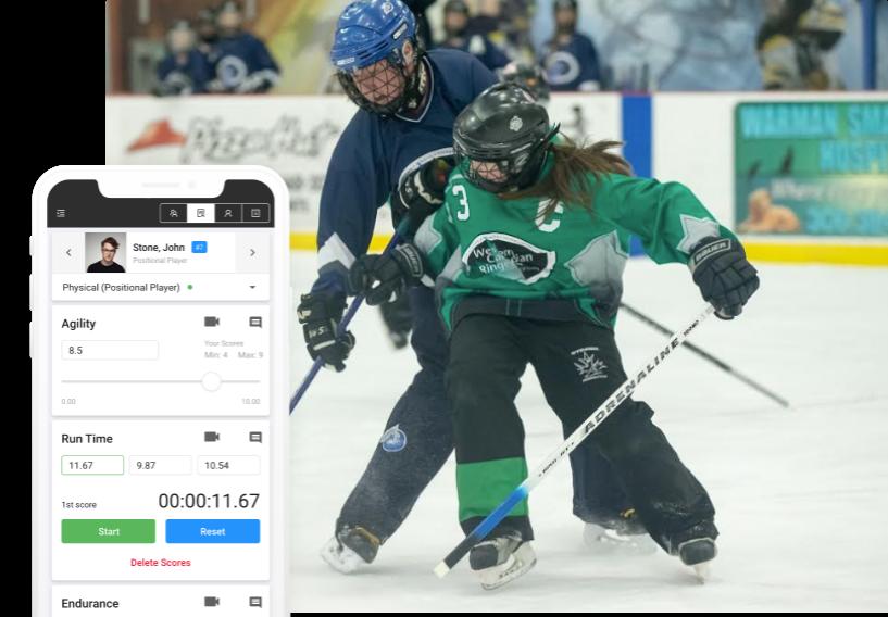 hockey evaluation software