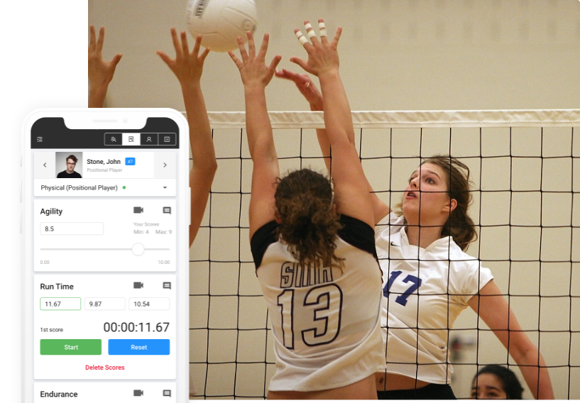volleyball evaluation software