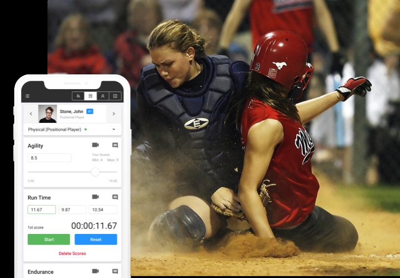 softball evaluation software