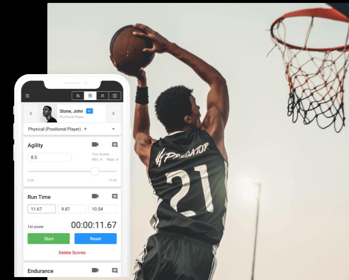 basketball evaluation software