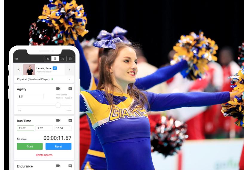 cheerleading evaluation software skillshark